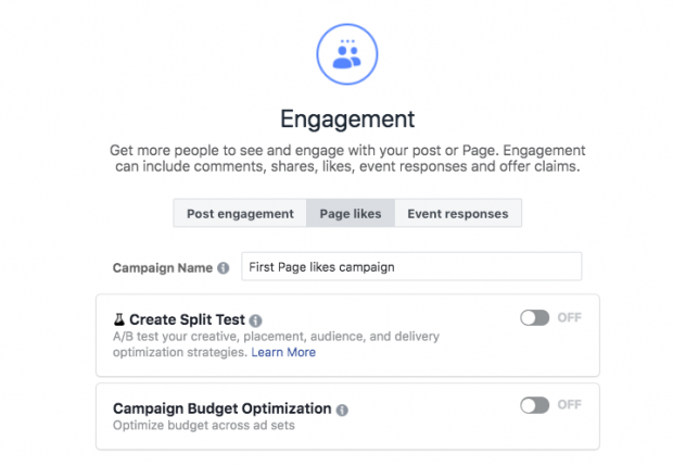 Cách chạy quảng cáo trên Facebook - Đặt tên cho chiến dịch