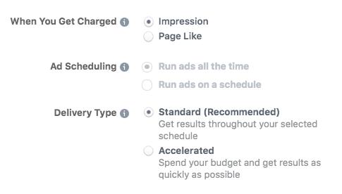 Cách chạy quảng cáo trên Facebook - Đặt ngân sách và lịch đăng quảng cáo