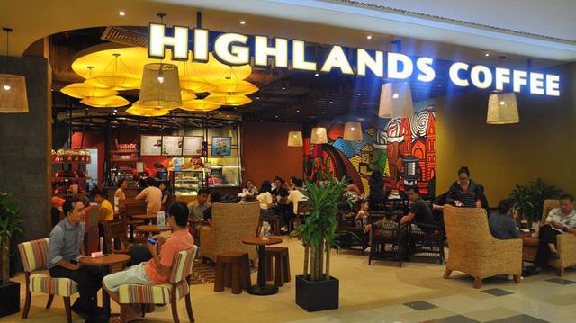 Nhượng quyền thương hiệu cafe Highland
