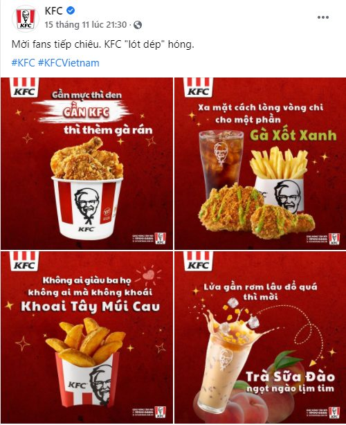 KFC bắt trend ca dao tục ngữ