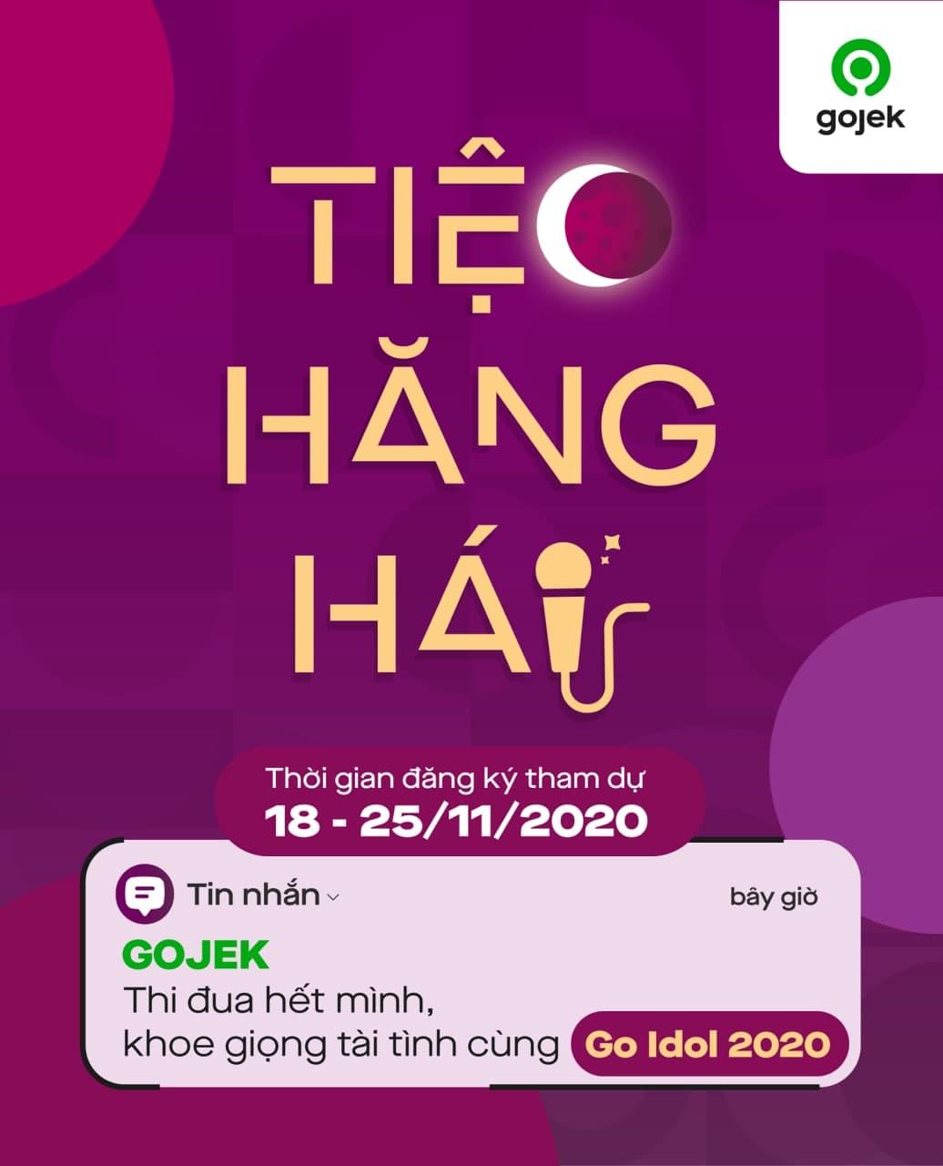 Gojek - Tiệc Hăng Hái