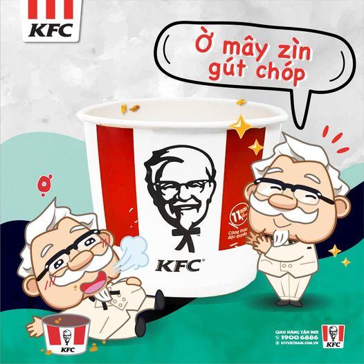 Ờ mây zìn, gút chóp kFC
