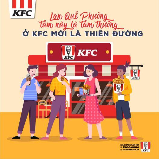 Lan Quế Phường tầm này là tầm thường - Ở KFC mới là thiên đường