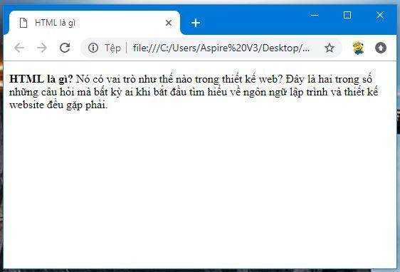 cách trình duyệt web đọc html