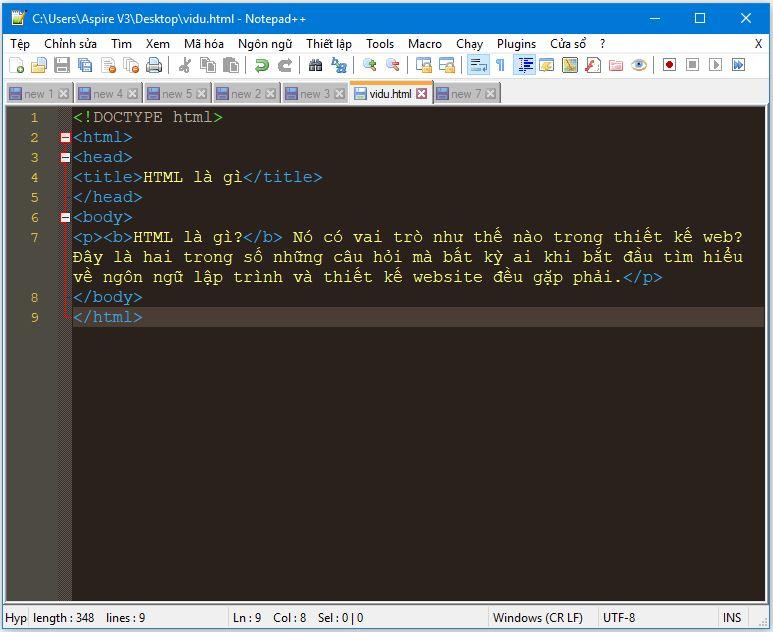 HTML hoạt động như thế nào?